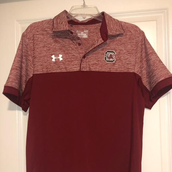 Under Armour Other - USC gamecocks under armor polo